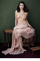 light pink Vintage costume dress