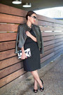 Black-custom-made-piol-dress-black-leather-ann-taylor-jacket