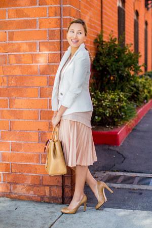 off white Plie Clothing top - camel Fendi bag