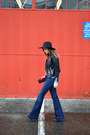 Flared-j-brand-jeans-wool-fedora-asos-hat-leather-h-m-jacket