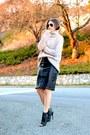 Silver-turtleneck-zara-sweater-black-steve-madden-boots