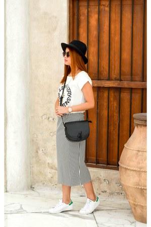 Choies dress - Choies hat - Adidas sneakers