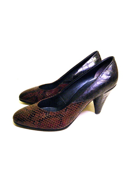 brown Lauro Righi shoes - black