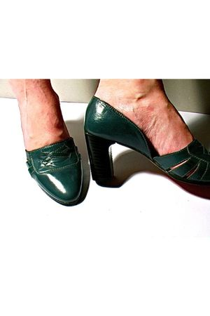 green Lauro Righi shoes