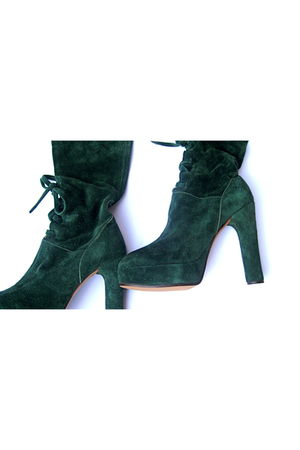 green Lauro Righi boots