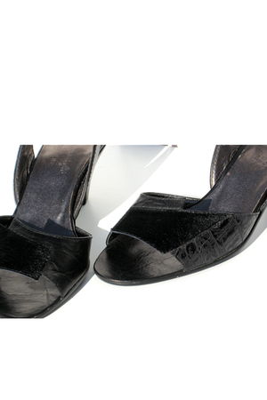 black Lauro Righi clogs