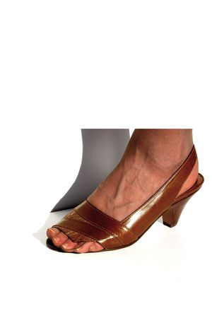 brown Lauro Righi clogs