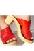 red Lauro Righi clogs