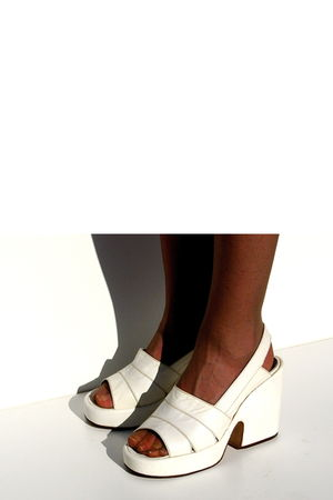 white Lauro Righi clogs