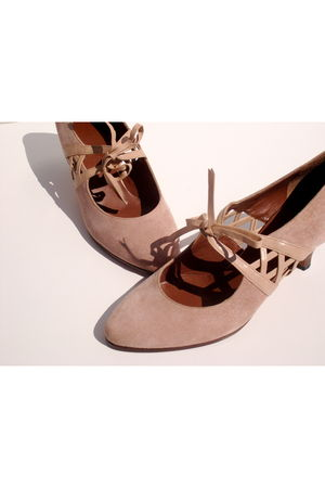 pink vintage Lauro Righi shoes