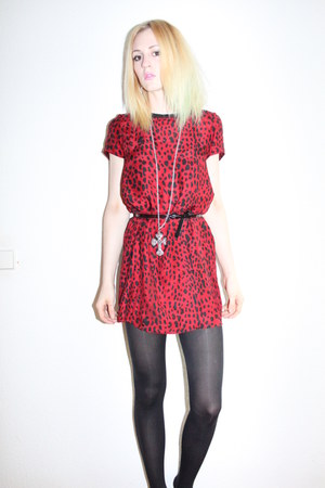 Zara dress - cross Miss Selfridges necklace