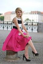 Chicwish dress - Gionni bag - Mixer heels - Ebay necklace