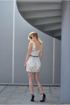 PERSUNMALL dress - VJ-style sunglasses - Sergio Todzi heels - c&a belt