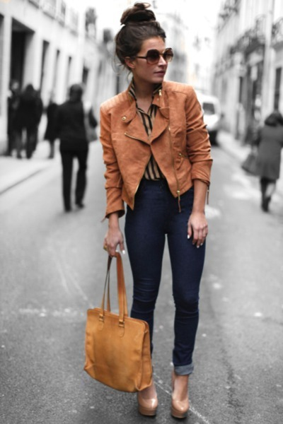 Brown Jacket Style | Outdoor Jacket