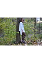 khush clothing cardigan - apache style boots