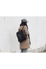 Zipper-zara-boots-wool-theory-coat-baseball-american-apparel-hat