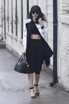 antigona Givenchy bag - soia & kyo jacket - liya Alexander Wang heels