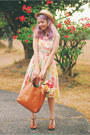 Peach-modcloth-dress-brown-seychelles-heels