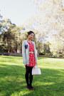 Urban-outfitters-dress-louis-vuitton-bag-sheep-ring-cassie-art-belt