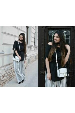 Zara pants - Mango belt