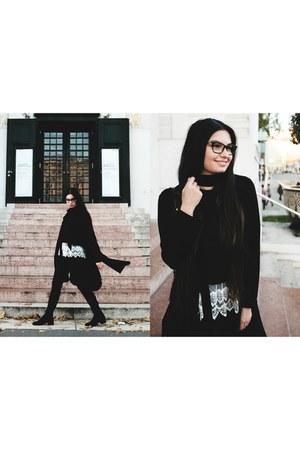 Zara scarf - Mango top