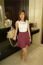 White-topshop-top-amethyst-pink-manila-skirt