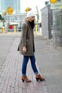 Burnt-orange-ross-boots-brown-tweed-ralph-lauren-coat-navy-h-m-jeans