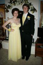 yellow bloomingdales dress