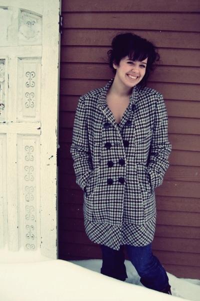 blue jeans - gray BCBGgirls coat