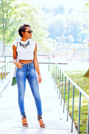 blue asos jeans