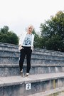 Bronze-deb-shoes-white-new-york-street-people-atelier-t-shirt