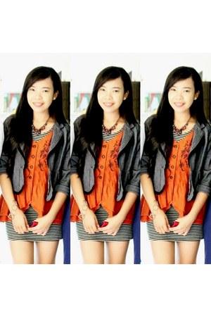 xxx dress - xxx blazer - xxx blouse