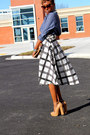 H-m-shirt-zerouv-sunglasses-vintage-skirt-6pm-heels