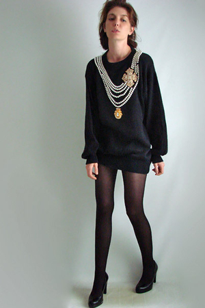 black Bonnie Boerer & Company sweater