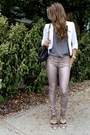 Metallic-rag-bone-pants-white-aqua-blazer-charcoal-gray-joie-shirt