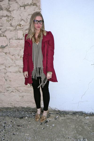 flats - coat