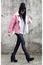 chicnova jacket - zeroUV sunglasses - PERSUNMALL top