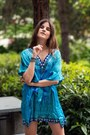 Blue-seagrass-dreams-noemii-resortwear-dress-blue-kurt-geiger-wedges
