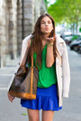 Green-zara-shirt-beige-trench-burberry-coat-gold-bow-lumo-ring