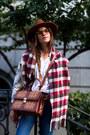Black-spm-boots-blue-topshop-jeans-brown-hat-white-asos-shirt