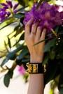 Black-stylestalker-skirt-white-patterned-hermes-top-black-hermes-bracelet
