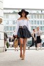 New-icons-hat-quilted-chanel-bag-morgan-belt-leather-harrods-skirt