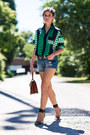 Asos-shirt-mcm-bag-denim-current-elliot-shorts-mango-heels