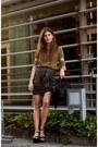 Black-alexander-wang-bag-black-zara-sandals-gold-pitchouguina-top