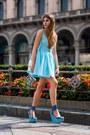 Sky-blue-casper-pearl-dress-sky-blue-kurt-geiger-wedges