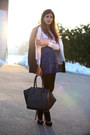Black-h-m-coat-white-zara-blazer-white-shirt-black-bag