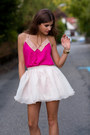 Light-pink-buckle-stylishplus-shoes-light-pink-tulle-minusey-skirt