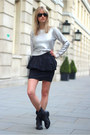 Black-zara-boots-black-ray-ban-sunglasses-silver-h-m-jumper