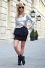 Black-zara-boots-black-ray-ban-sunglasses-silver-h-m-jumper