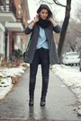 Black-zara-boots-charcoal-gray-american-apparel-coat